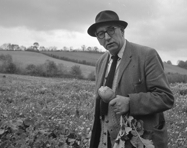 Patrick Kavanagh.  Poet. The Wiltshire Collection, National Library of Ireland.