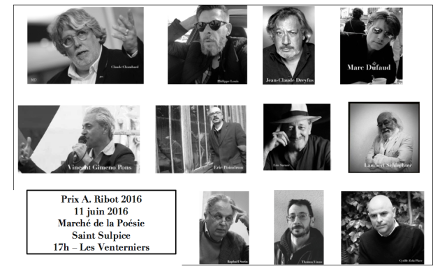Jury - Prix A.Ribot 2016